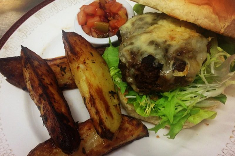 pantry lamb burger